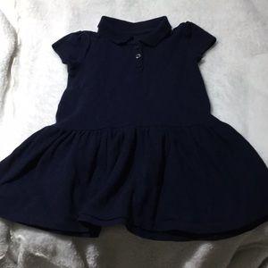 Children's place navy uniform dress 2T worn once